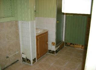 Works in process by quad cities ceramic tile and natural for Bathroom contractors quad cities