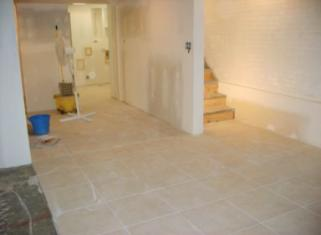 Works in process by quad cities ceramic tile and natural - Bathroom contractors quad cities ...